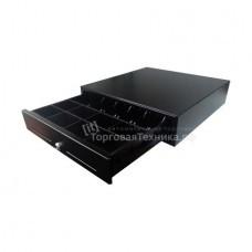 Денежный ящик Форт 5М (механический, PUSH, черный)
