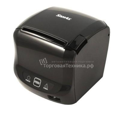 Принтер чеков (кухонный) Sam4s Ellix 50DB, Ethernet/COM/USB, черный (с БП)