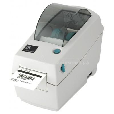 Принтер штрих-кодов термотрансферный Zebra TLP 2824S Plus (203 dpi) (RS232, USB)