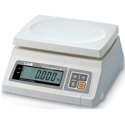 Весы CAS SW-10 DD RS (COM -port)