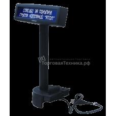 Дисплей покупателя Posiflex PD-2602B черный для Jiva/KS, USB
