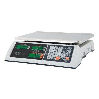 Весы торговые M-ER 327 AC-32.5 с АКб (без стойки)