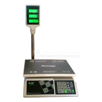Весы торговые M-ER 326-15.2 с АКБ со стойкой LCD