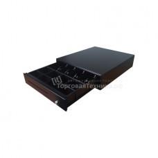 Денежный ящик  Форт 4K (черный) 3-х позиционный замок